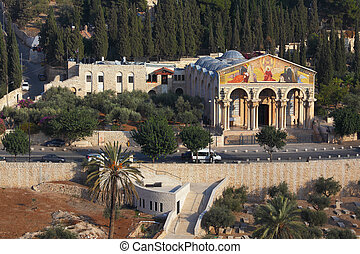 The Church of all peoples, Jerusalem.