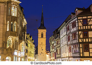 The Church of all Saints in Erfurt in Germany