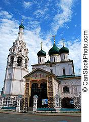 The Church of Elijah the Prophet in Yaroslavl, Russia