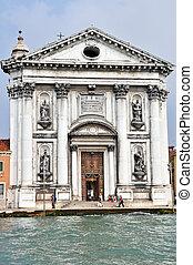 The Church of I Gesuati in Venice - VENICE, ITALY - 30 ...