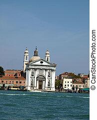 The Church of I Gesuati (Sta Maria del Rosario) on the ...
