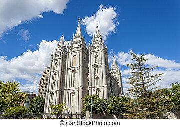 The Church of Jesus Christ of Latter-day Saints' Temple, Salt Lake City, Utah