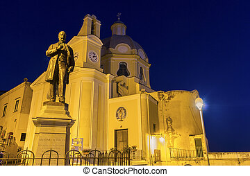 The Church of our Lady Grace in Procida