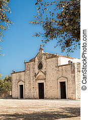 The church of Our Lady of Ibernia in Cisternino