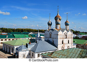 The Church of Our Savior on the Marketplace in Rostov the Great, Yaroslavl Oblast, Russia
