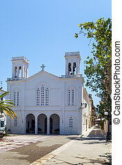 The church of Saint Nicholas in city Nafplio, Greece