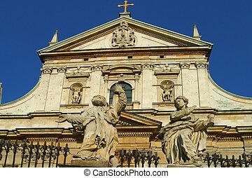 The Church of SS Peter and Paul Krakow Poland.