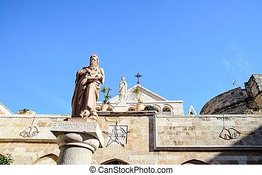 The Church of St. Catherine, Bethlehem