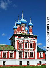 The Church of St. Dmitry on the Blood in Uglich, Yaroslavl Oblast, Russia