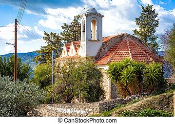 The Church of St. John the Forerunner. Kedares Village. Paphos District, Cyprus