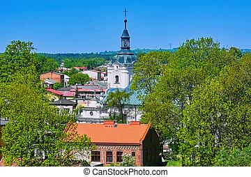 The Church of St. Matthias the Apostle in Siewierz, Poland