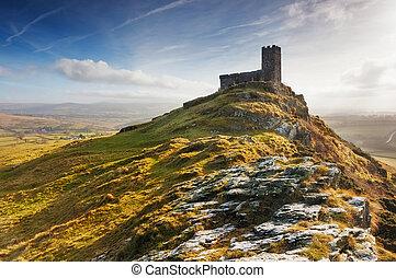 Brentor, Dartmoor National Park, Devon - The Church of St...