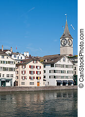 Church of St. Peter in Zurich