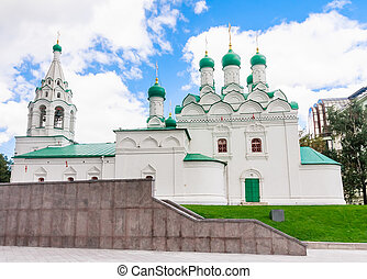 The Church of St. Simeon on Cook Street. Moscow