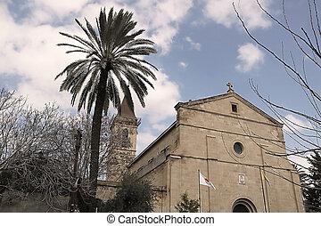 The Church of the Holy Cross, Roman Catholic church, Larnaca, Cyprus