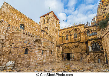 The Church of the Holy Sepulchre in Jerusalem - Israel