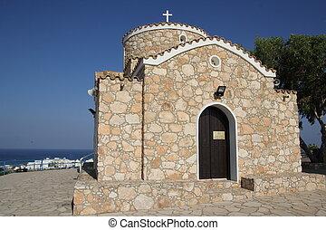 The Church of the Prophet Elias in Protaras, Cyprus