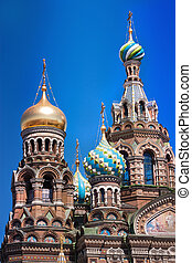 The Church of the Savior on Spilled Blood in st Petersburg...