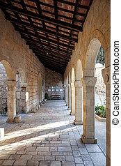 The Church of the Visitation in Ein Karem