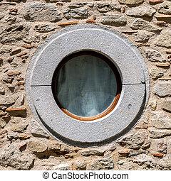 The circle window