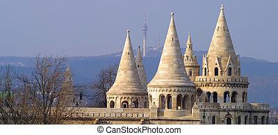 The Citadella Budapest Hungary.