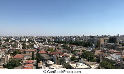 The city center of Nicosia, Cyprus - The city center of the...