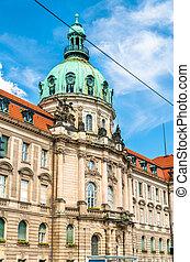 The City Hall of Potsdam in Brandenburg, Germany