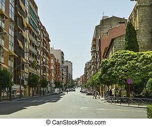 The city of Guadalajara in Spain