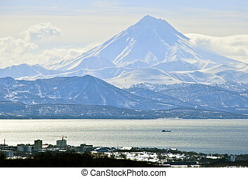Kamchatka - The city of Petropavlovsk - Kamchatka in Russia