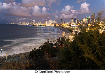 The city of Tel Aviv