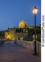 The city of Toledo in Spain