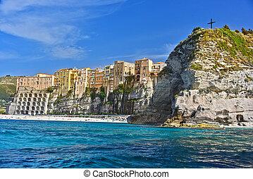 The city of Tropea, Calabria, Italy