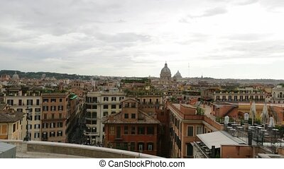 the cityscape of Rome