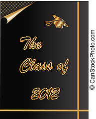 The Class of 2012 graduation card