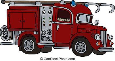 The classic fire truck