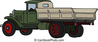 The classic green truck