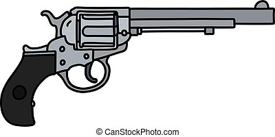 The classic long revolver