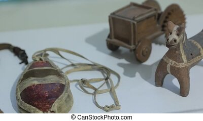 The Clay Whistle Toy - The old clay whistle toy