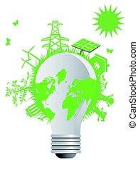 the clean eco light bulb