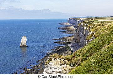 The cliff of Etretat