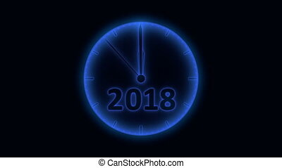 The clock 2019