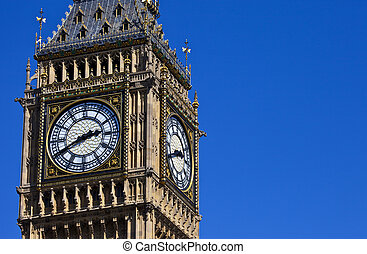 The Clock-Face of Big Ben in London