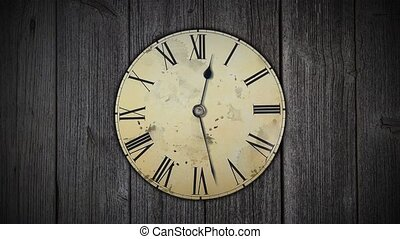 The clock is shaking with speed. Space and time. Theory of...