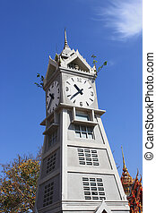 The Clock Tower of wat Thai.