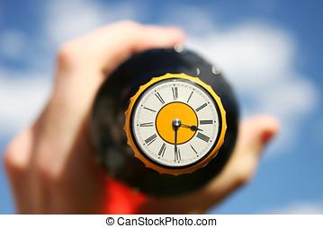 Beer OClock - The Clock Will Stop, On The Top, Of Beer...