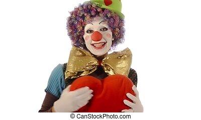 the clown has a big heart