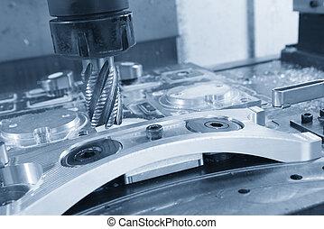 The CNC  machining center