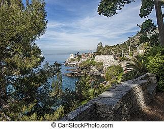 the coast of Genoa Nervi