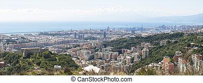 the coast of Genoa