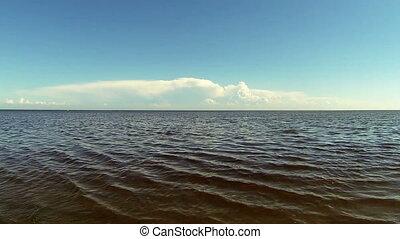 The coast of the Gulf